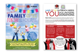 Charity Flyer Design